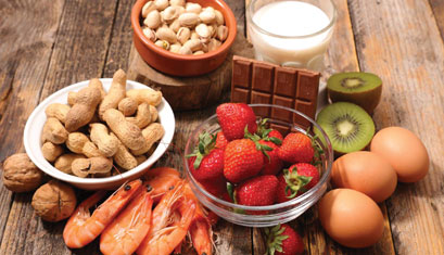 Food allergen traceability for food Supplements