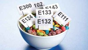 Food additives are intentionally added to food