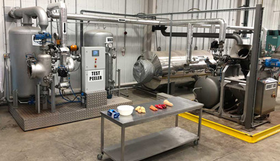 Steam Peeling Solutions for Vegetables and Fruits