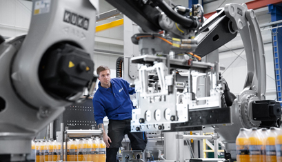 Robotics: 25 Years of Reliable Palletizing Technology