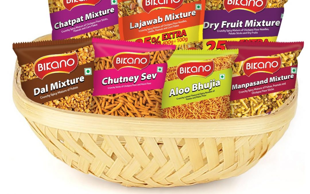 Bikano Launches a Wide Range of Salty Snacks