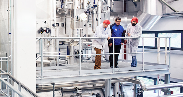 Decentralized Generation of Electricity and Steam – Berchtesgadener Land Dairy takes Matters into its own Hands